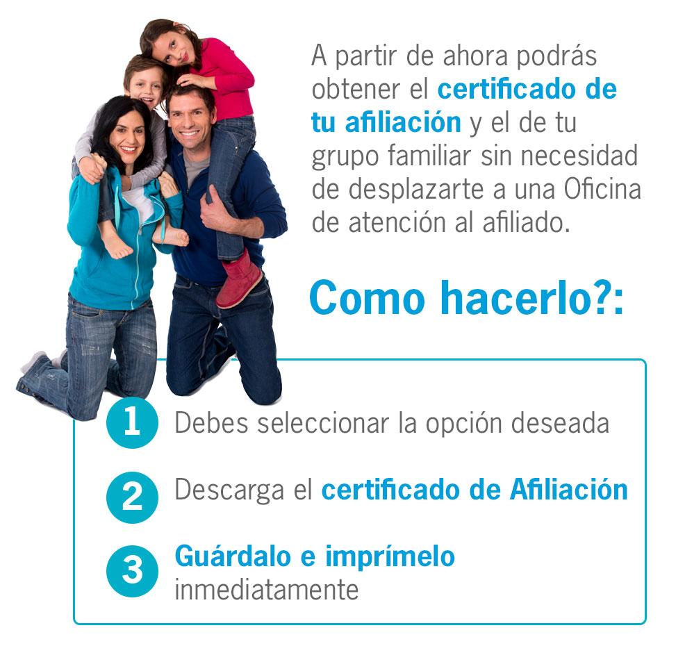 descarga certificado de afiliacion medimas